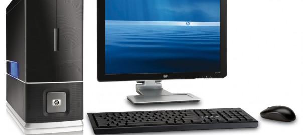 HP asztali számítógép az irodába